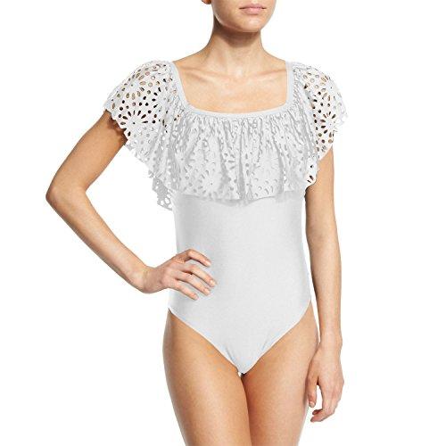 Fashionbabies - Traje de una pieza - para mujer blanco