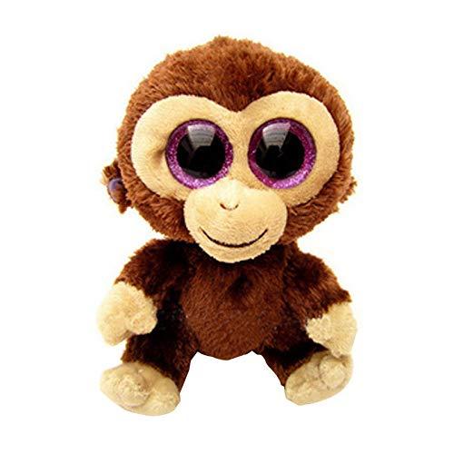 WATOP Stuffed Animals - Teddy Bears| ty Beanie boos Gray Dog Plush Toy Doll Baby Girl Birthday Gift Stuffed & Plush Animals 15cm Cute Big Eyes Christmas Girlfriend