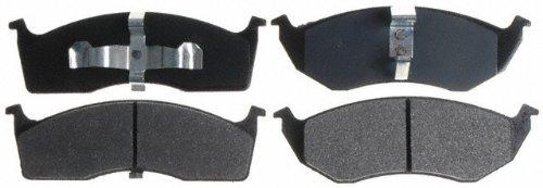 Intrepid Front Brake Pads Rotors (Raybestos SGD730M Service Grade Semi-Metallic Disc Brake Pad Set)