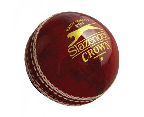 SLAZENGER Crown Cricket Ball, 4.75oz by Slazenger by Slazenger