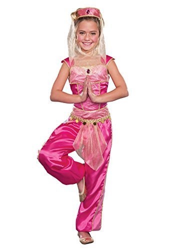 Dream Genie (As Shown;Large) (Pink Genie Costume)