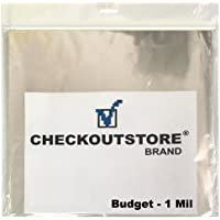 1,000 COS Clear Plastic OPP Outer Sleeves for 12 Vinyl 33 RPM Records Budget