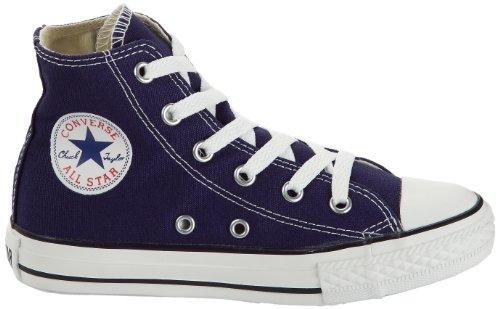CONVERSE Chuck Taylor All Star Season Hi - Zapatillas de tela infantil ébano