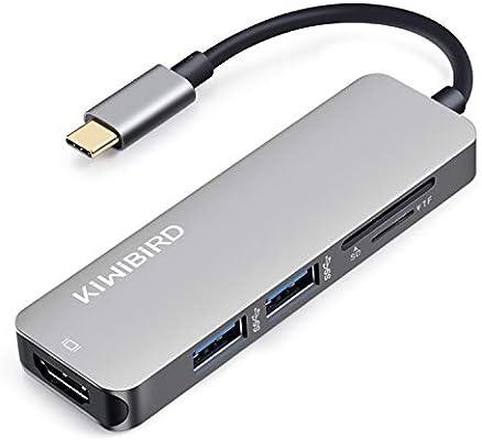 Lumia 950 etc Aluminum Shielded USB C SD Card Reader USB C SD and Micro SD Card Reader,High Speed Micro SD//TF USB Type C Card Reader for MacBook 2017 iMac 2017,DELL Venue Pro,Yoga 900S,Chromebook Pixel,Samsung S8