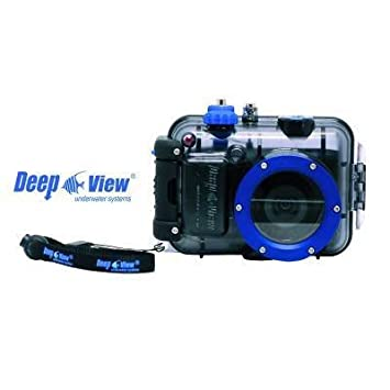 Deep View cámara Buceo Impermeable Explorer Nikon S3600 + Funda ...