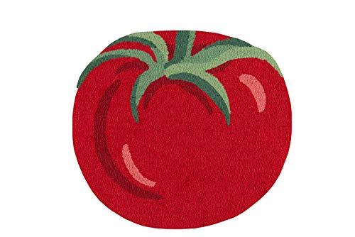 Novogratz by Momeni CUCINCNA10RED2629 Cucina Tomato Kitchen Mat, Area Rug 2'6