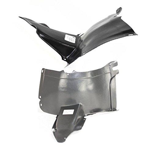 - Koolzap For 05-10 VW Jetta Front Splash Shield Inner Fender Liner Panel Left Right PAIR SET