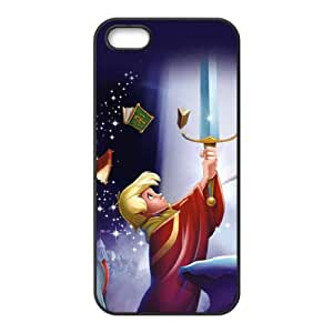 iPhone 4 4s Cell Phone Case Covers Black Sword in the Stone Phone Case Cover Custom DIY CZOIEQWMXN31435