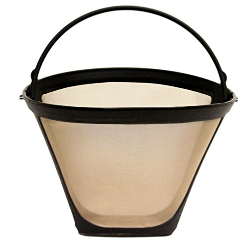 GoldTone Brand Reusable #4 Cone Coffee Filter fits Moccamaster Coffee Makers and Brewers. BPA-Free by GoldTone (Image #1)