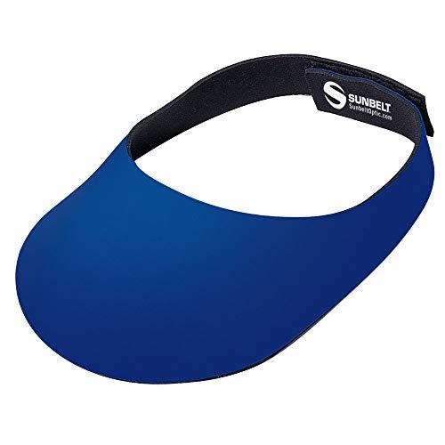 Sunlite Adjustable Fit Neoprene Visor, Blue