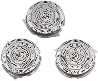 MXJEEIO- 3 Pcs Cuchillas de Repuesto para Cabezales de Afeitado ...