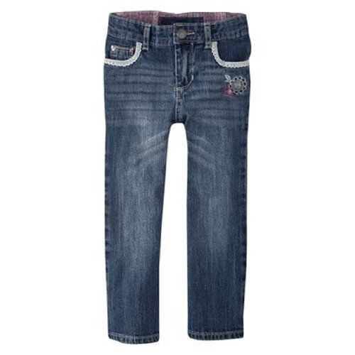 Oshkosh Infant/Toddler Girls Bootcut Sunset Wash Jeans