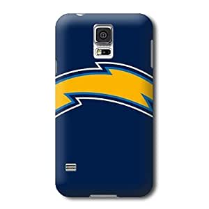 S5 Case, NFL - San Diego Chargers Large Logo - Samsung Galaxy S5 Case - High Quality PC Case