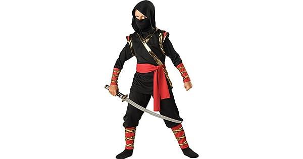 Amazon.com: Traje de ninja con capucha para niños ...