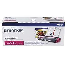 Brother Printer TN221M Standard Yield Magenta Toner Cartridge
