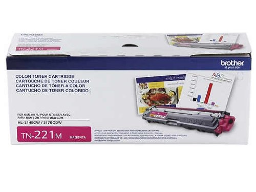 Brother Printer TN221M Standard Yield Magenta Toner Cartridge (Portable Laserjet Printer compare prices)
