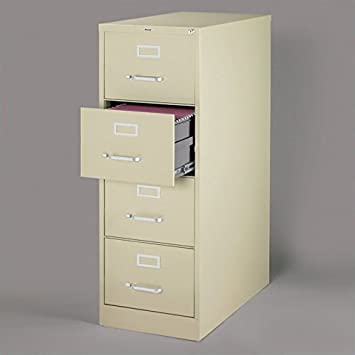 Amazon.com : 4 Drawer Commercial Legal Size File Cabinet Finish ...