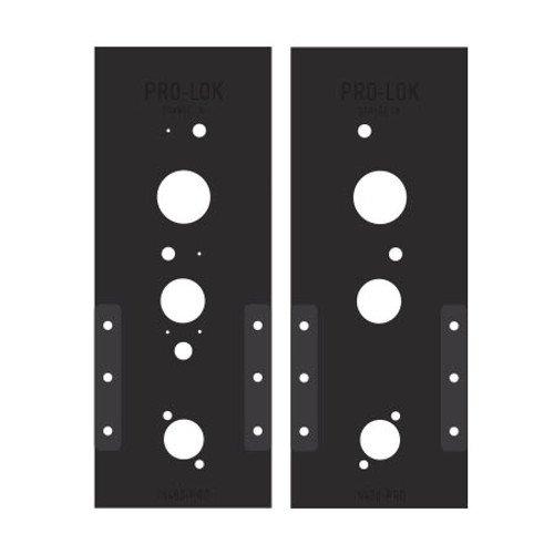Pro-Lok Sargent Harmony 8200 Mortise Lock PRO Template Set