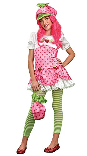 Tween Strawberry Shortcake Costumes (Deluxe Strawberry Shortcake Costume - Small)