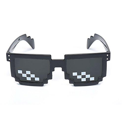 KLXEB Tratarlo Con Thug Life Gafas Gafas De Sol Hombre Mujer ...