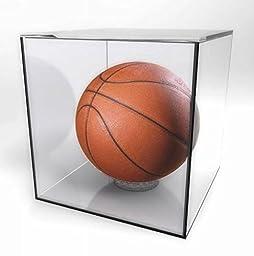 Fixture Displays Acrylic Sports Display Case 10x10x10\