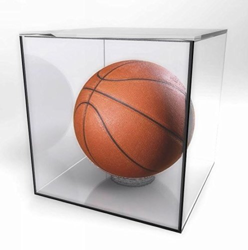 FixtureDisplays Acrylic Sports Display Case 10x10x10'' Basketball Collection Case15142 15142 by FixtureDisplays