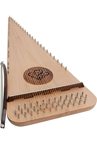 Roosebeck Baritone Rounded Psaltery - Right Hand by Roosebeck