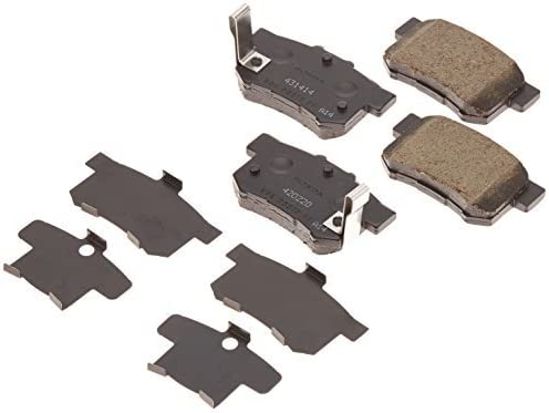 Rear Genuine Acura 43022-S5A-J00 Brake Pad Set