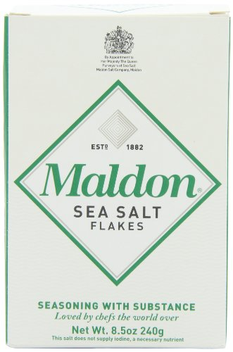 Maldon Sea Salt Flakes, 8.5 ounce Boxes (Pack of 2)