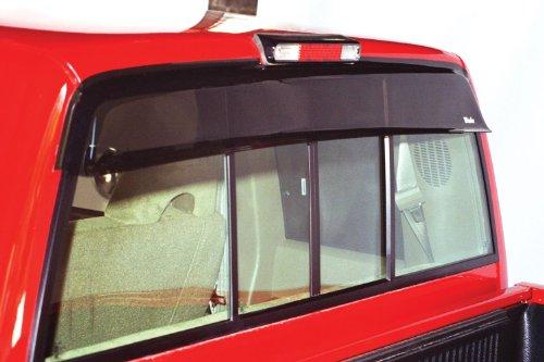 Wade 72-36108 Smoke Tint Rear Window Cab Guard - Hi Performance Vent Hood