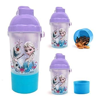 Disney Frozen Canteen Water Bottle With Snack Compartment Amazon