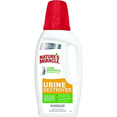 Cat Litter Nature's Miracle Just for Cats Urine Destroyer, Urine Enzymatic... [tag]