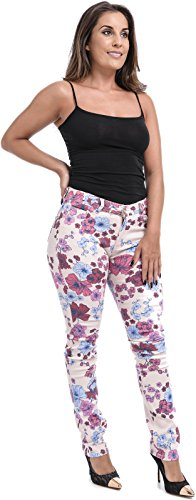 Xpression Fashion Floral Xpression Femme Fashion Jeans g1qPw05F