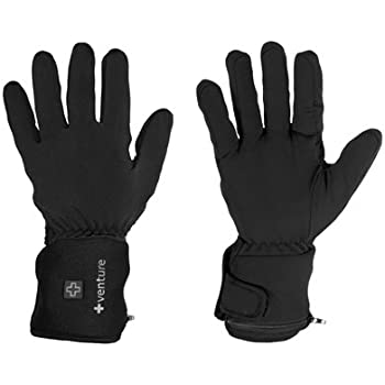 Venture Heat City Collection Heated Glove Liners (Black, X-Large)
