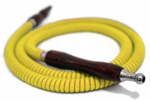 SALE Yellow 57'' HOSE Hookah Shisha Nargila for water smoking bar pipe NEW