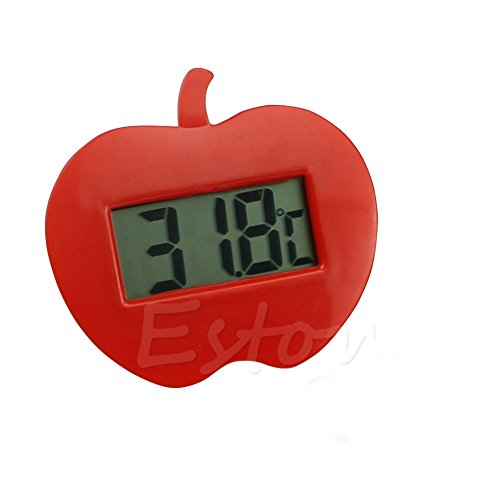 Onpiece 1 Pc Mini Digital LCD Thermometer Fridge Freezer Home Room Work Temperature New