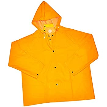 Amazon.com : Boss Yellow Rain Jacket - Medium, Model# 3PR0500YM ...