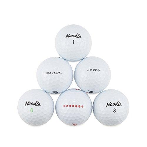 Maxfli Noodle (50) Perfect Mint Used Golf Balls (Maxfli Golf Clubs)