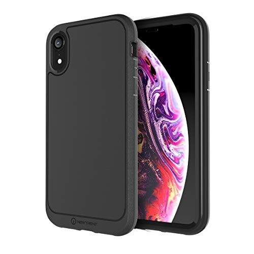 New Trent iPhone XR Case for iPhone XR 6.1 inch Antlia Full-Body Protection Case with Built-in Screen Protector for New Apple iPhone XR 6.1 inch 2018