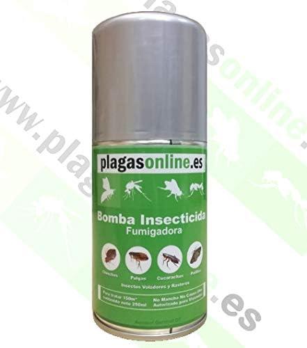 PLAGAS ONLINE Bomba Insecticida Fumigadora 250ml: Amazon.es: Jardín