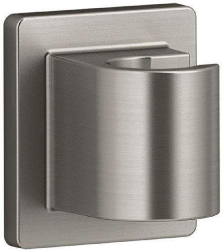 KOHLER K-98347-BN Awaken Fixed Wall Bracket, Vibrant Brushed Nickel