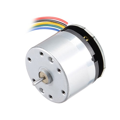 uxcell Micro Motor DC 12V 10000RPM 6 Wire High Speed Encoder Motor for DIY Hobby Toy Cars Remote Control
