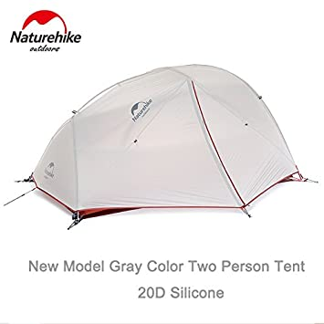 Naturehike 4 Season 2 Person Tent Super Waterproof Ultralight C&ing Tent (New gray)  sc 1 st  Amazon.com & Amazon.com : Naturehike 4 Season 2 Person Tent Super Waterproof ...