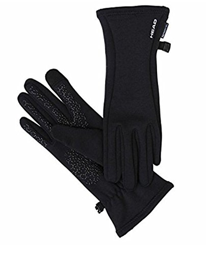 Head Ladies Digital Sport Running Glove - Black (SMALL)