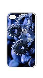 TUTU158600 Plastic Phone Case Back Cover case for iphone 4/4s - Robot