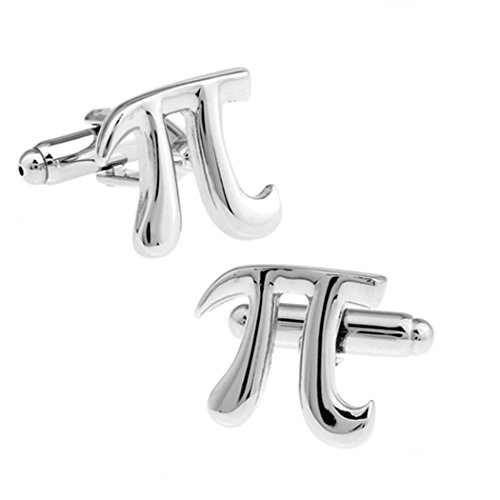 Fashion Silver Cufflinks Formal Alphabet product image