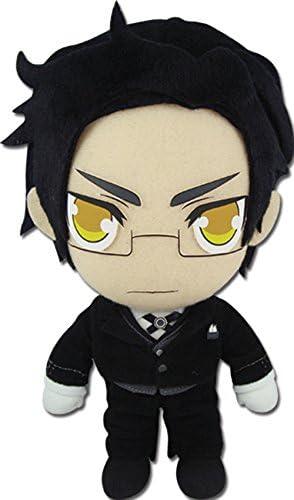 *NEW* Black Butler II Claude Faustus 8 inch Black Stuffed Plush by GE Animation