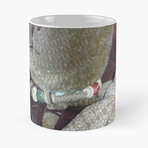 Teddy Jointed Mohair Bear - Finnbear Oteddington Jointed Teddybear Mohair Craftwork - Best Gift Ceramic Coffee Mugs 11 Oz