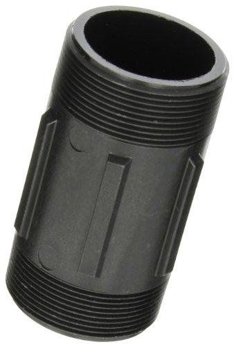 Banjo NIP200-4 Polypropylene Pipe Fitting, Nipple, Schedule 80, 2 NPT Male x 4 Length
