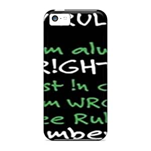 Iphone 5c Cases Covers - Slim Fit Protector Shock Absorbent Cases (rulez)